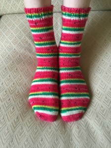ACotter's Watermelon Socks