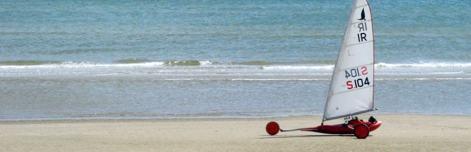 Sandyachting on Bettystown beach
