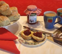 Tea and Scones at The Cottages