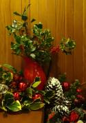 Christmas Decorations at the Cottages