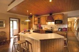 Rose Cottage galley kitchen