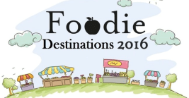 Foodie Destinations 2016 banner