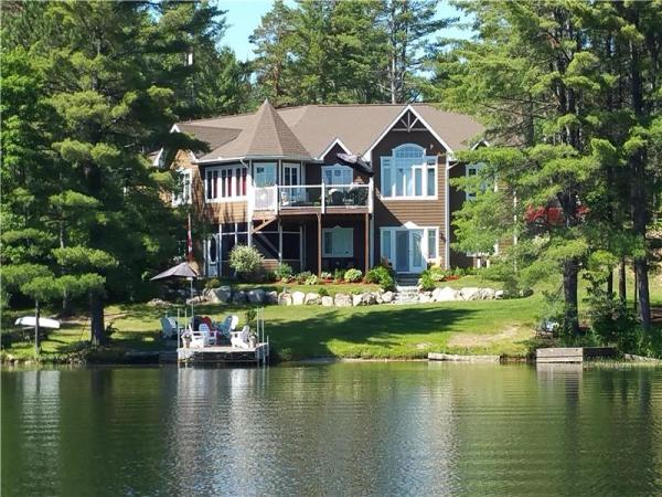 Beautiful Waterfront Home or - Otter Lake Cottage for Sale ...