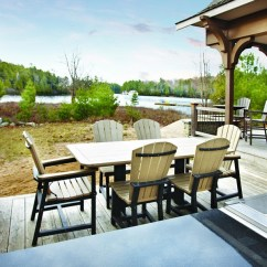 Double Adirondack Chairs With Umbrella Rei Folding Cottagespot: Recycled Plastic Dining Rectangular Table