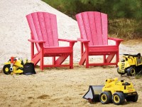 CottageSpot: Recycled Plastic Adirondack Chair - Kids Size