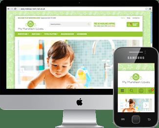 Woocommerce Website for 'My Munchkin Loves'