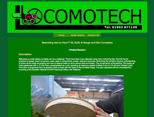 Locomotech website screen