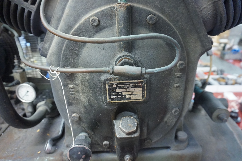 Ingersoll Rand Type 30, Model 15T Triple Cylinder Air