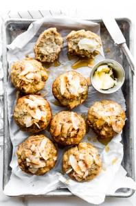 Toasted Coconut Paleo Banana Bread Muffins