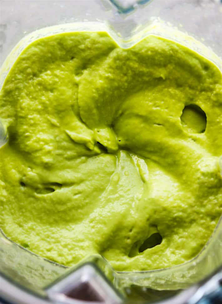 Vegan Chilled Artichoke Avocado Spring Pea Soup with Healthy Prebiotics! Super Creamy Raw Spring Pea Soup
