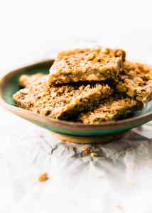 EASY 3 Step Paleo Baklava Bars {Vegan Friendly}