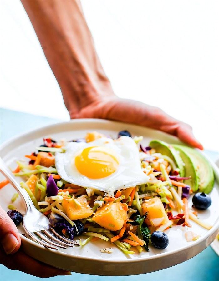Nourishing Paleo Warm Breakfast Salad