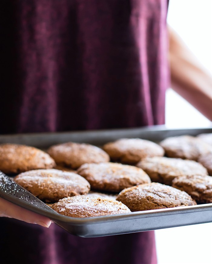 Brown Butter Snickerdoodle cookies (Gluten free, Egg Free) for gluten free holiday baking