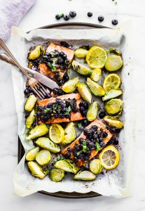 Superfood Baked Salmon {Paleo One Pan Meal}