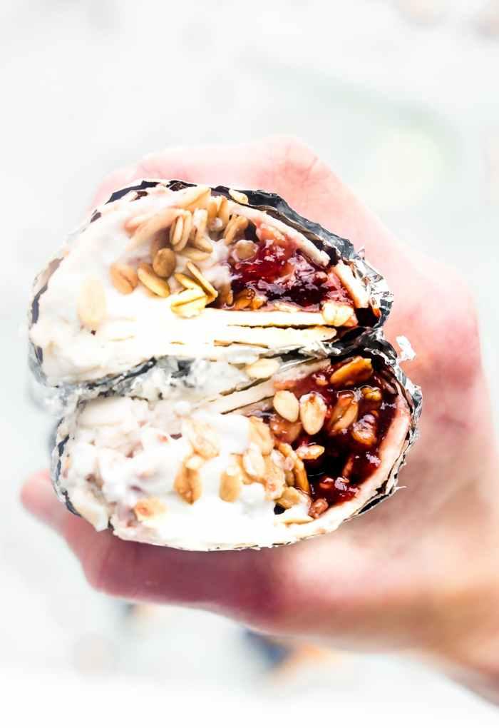 Grab 'n Go Gluten-Free Breakfast Wraps (Vegan options)