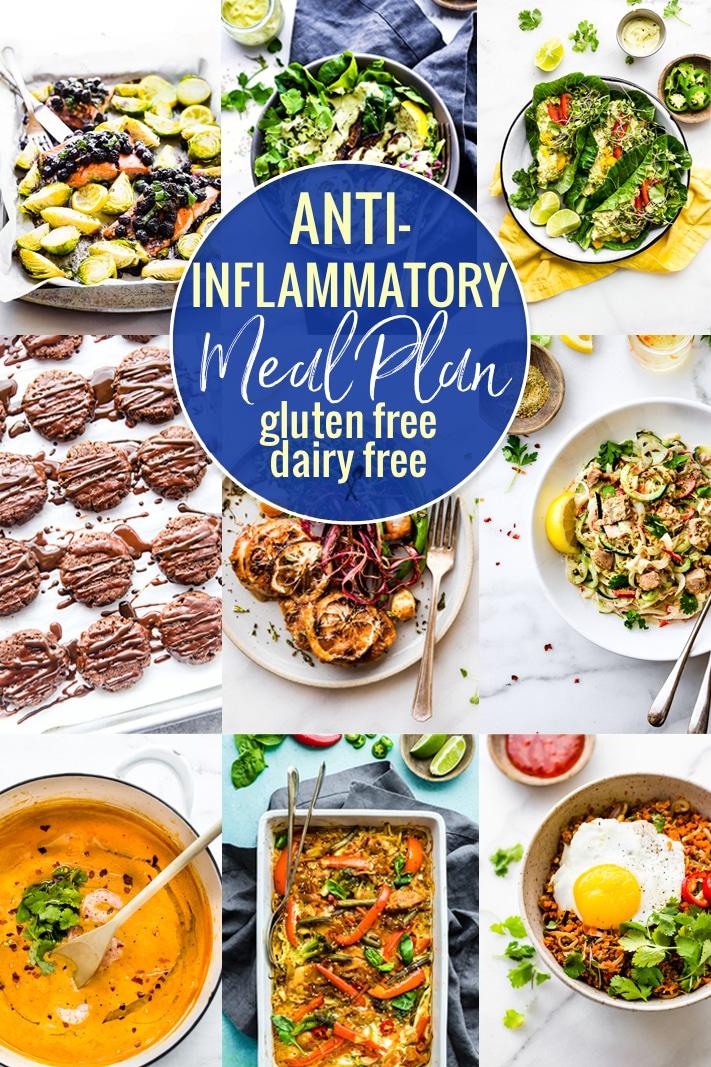 Anti-Inflammatory Meal Plan {Dairy Free Gluten-Free ...
