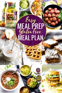Easy Meal Prep Recipes for a Gluten Free Meal Plan
