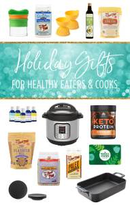 Holiday Gift Guide for Healthy Eater & Cooks {GIVEAWAY}