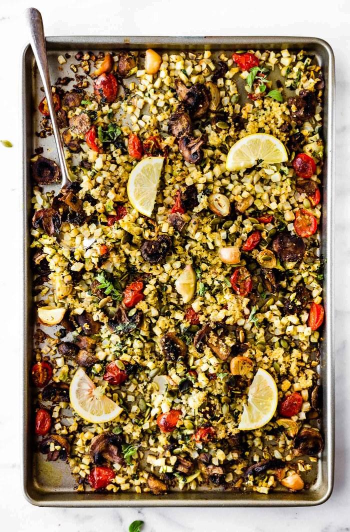 Dukkah Roasted vegetables