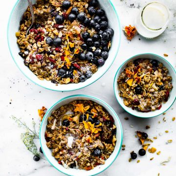 morning glory power breakfast oatmeal (meal prep) instant pot-2