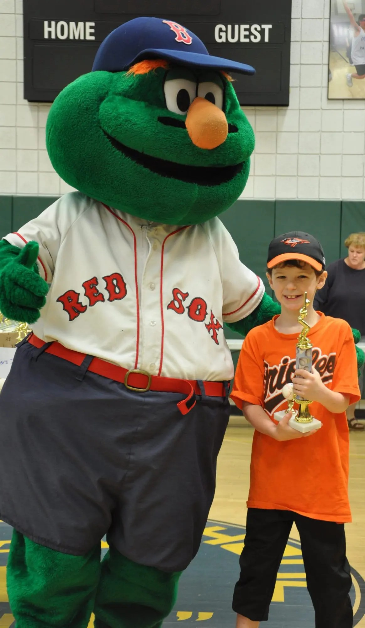 Wally The Green Monster Visits