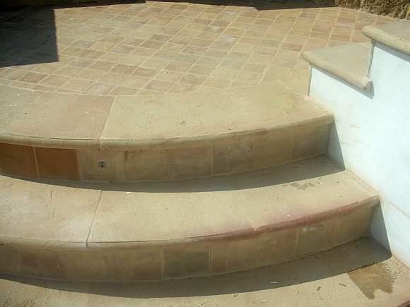 Scala da esterno in cotto  Scale e gradini in cotto per esterno