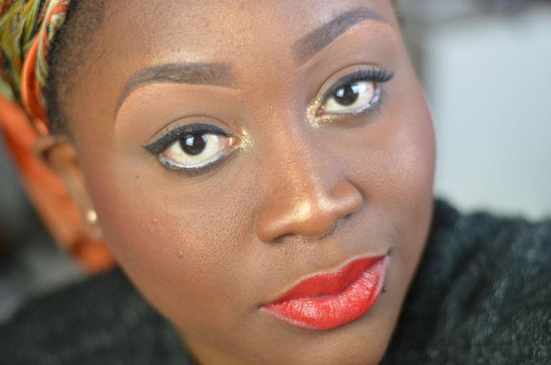 maquillage et coiffure rapides pour les fetes de fin d'année