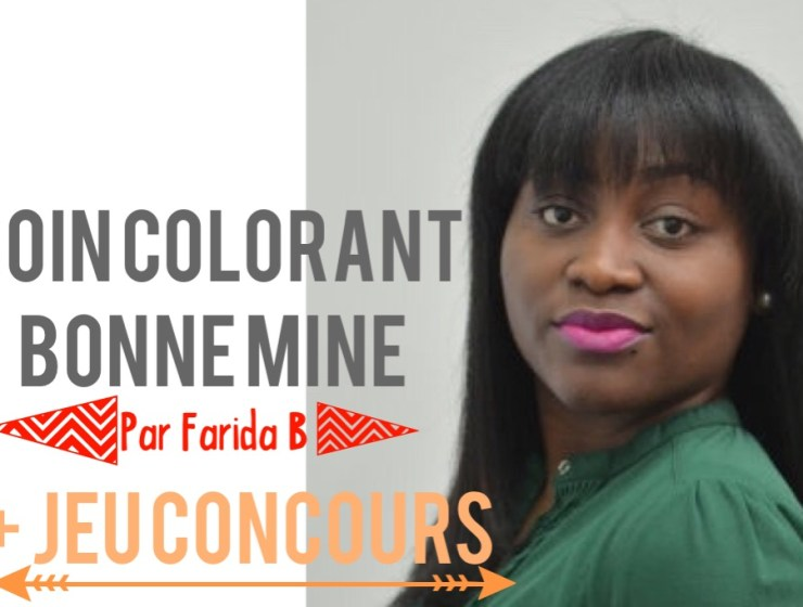 soin colorant bonne mine farida b