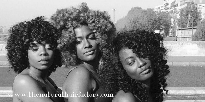 Madie, Maureen et Vicky les nouveaux modèles de perruques Natural Hair Factory