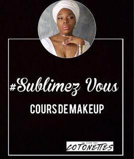cours de maquillage prestation du club des cotonettes