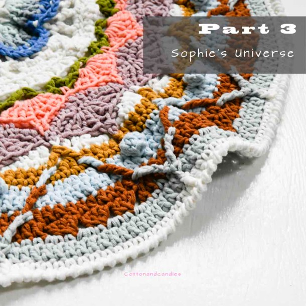 Part 3 Sophies Universe, Blog op cottonandcandles.nl