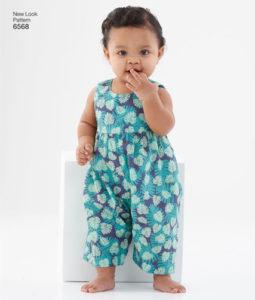 New Look 6568 Baby romper