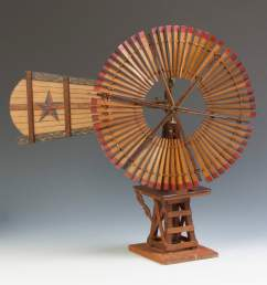 flint walling mfg windmill salesman sample cottone auctions [ 1800 x 1722 Pixel ]