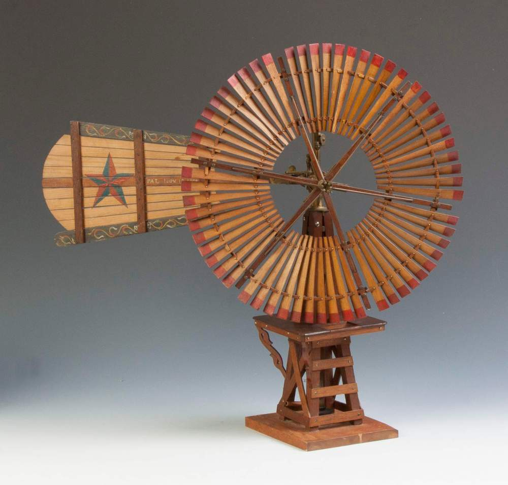 medium resolution of flint walling mfg windmill salesman sample cottone auctions