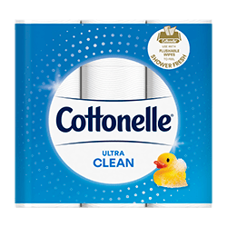 cottonelle ultra cleancare toilet