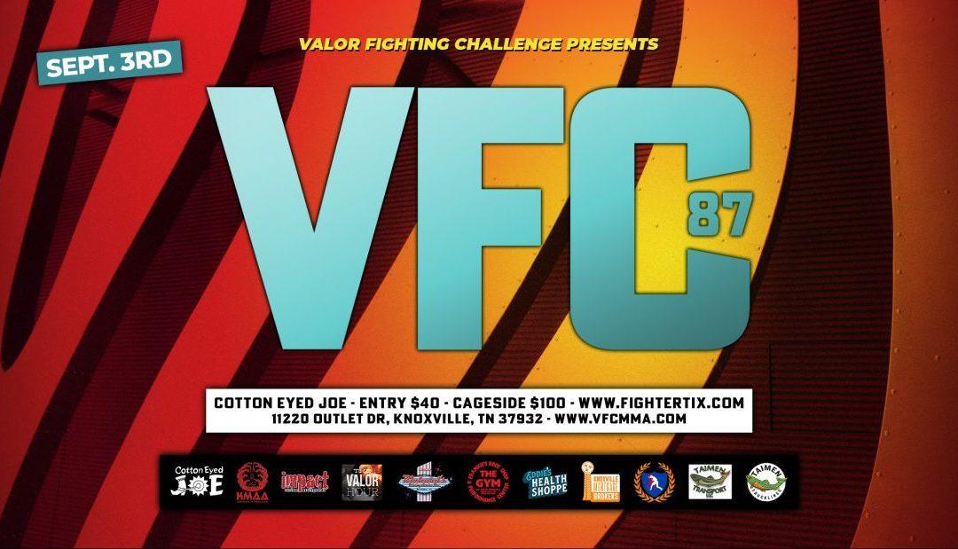 VFC – 87 Fight Night at the JOE