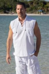 Mykonos Sleeveless Shirt
