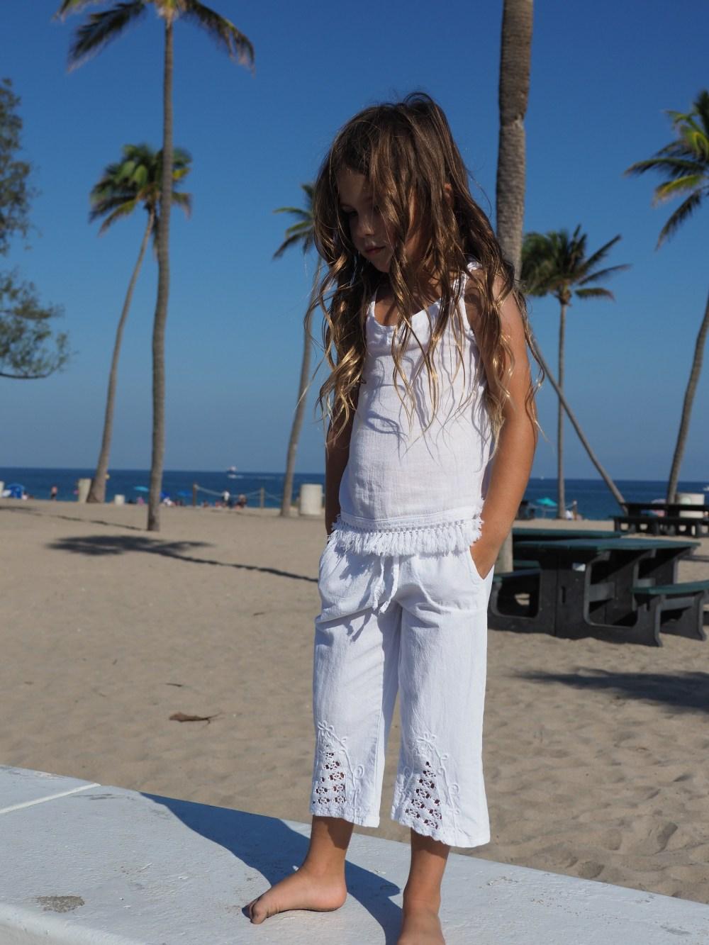 Girl's Summer Pants