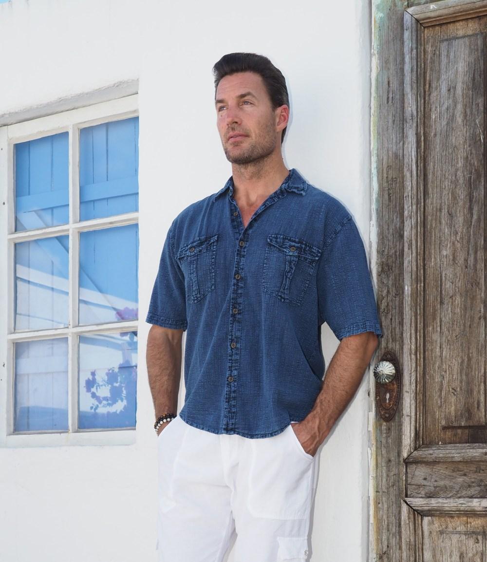Halo Midnight Blue Shirt