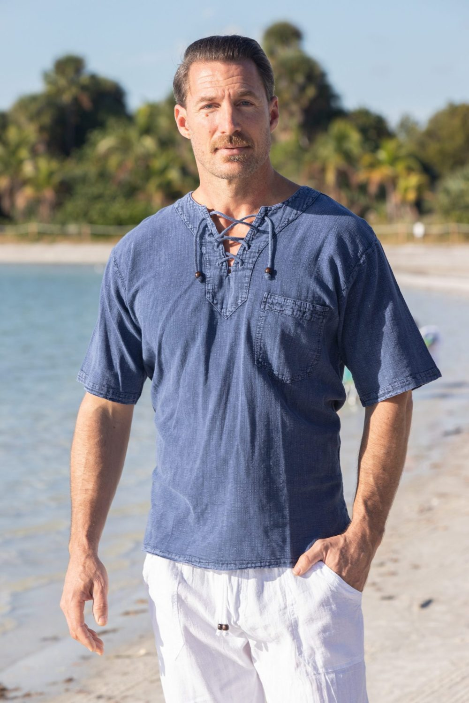 Hawaii Midnight Blue Shirt
