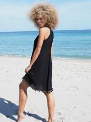 Cosmopolitan Black Line Dress