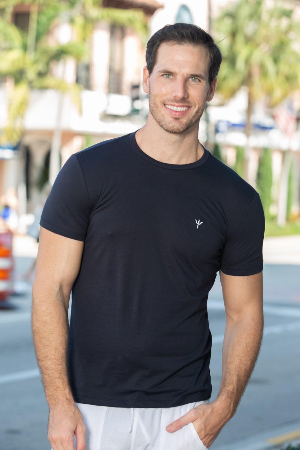 Sky T-Shirt Onyx Black