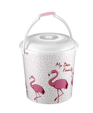 SEAU-FLAMANT ROSE (10lt)