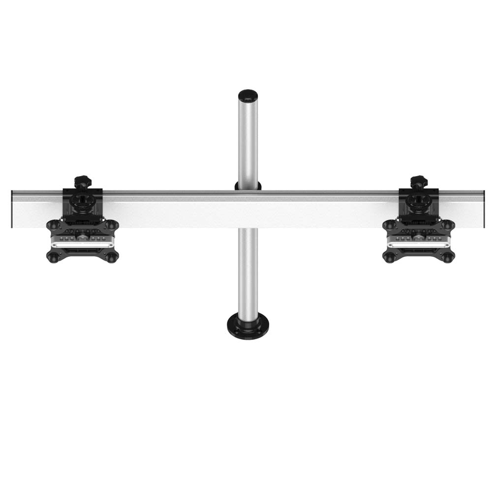 Dual Track Rail Mount for Apple Display Low Profile w