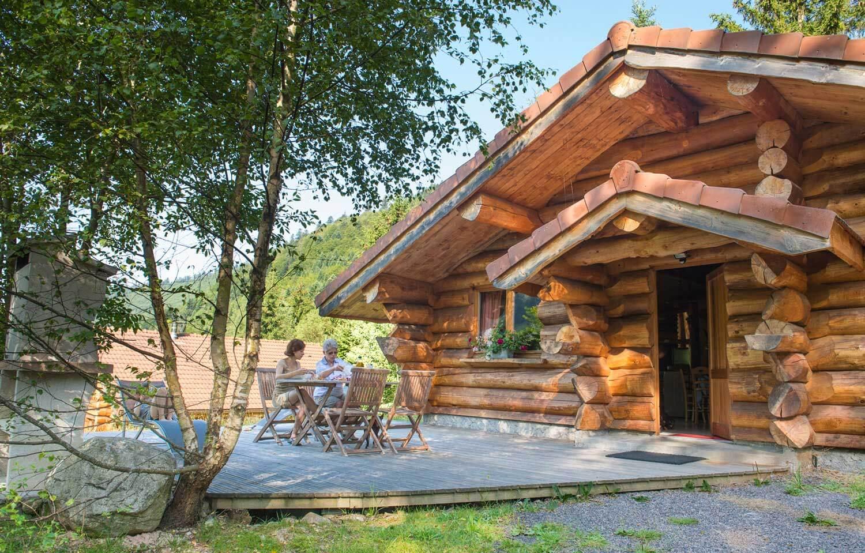 Maison en bois rondin for Maison bois vosges