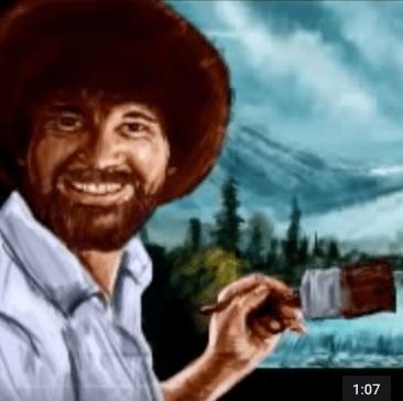 Bob Ross – Speed Painting by Reid Southen