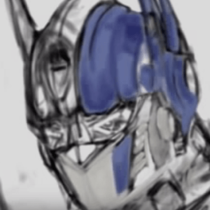 Optimus Prime – Speed Painting by Nico Di Mattia