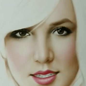 Britney Spears Speed Painting by Igor Kazarin
