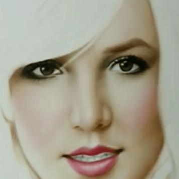 Britney Spears Speed Painting by Igor Kazarin
