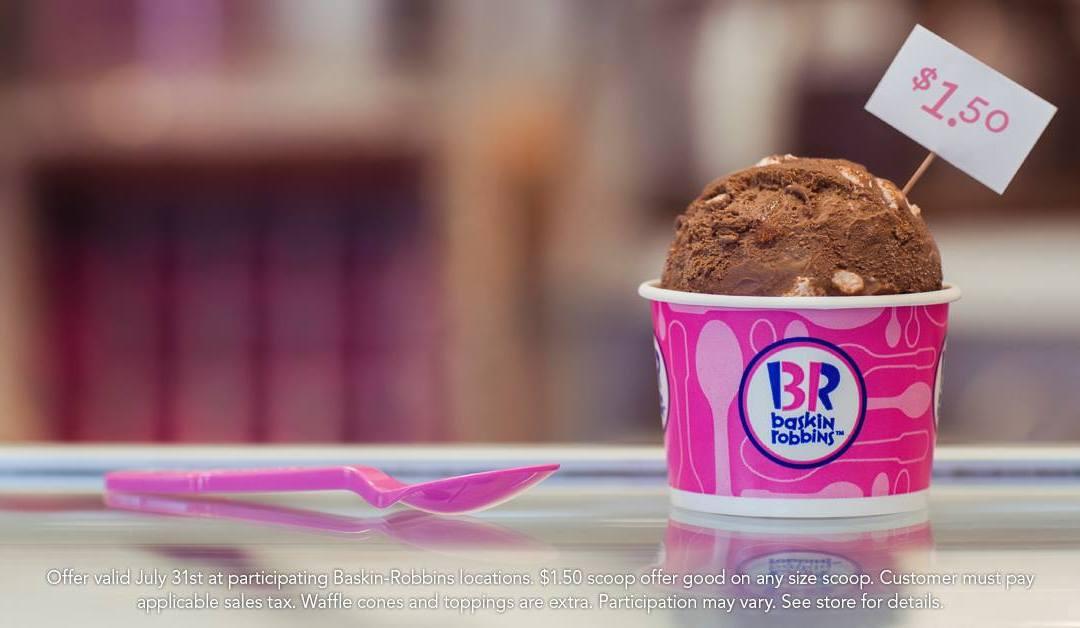 Beat The Summer Heat: Baskin-Robbins Celebrate 31
